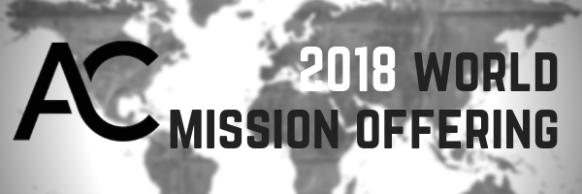 2018 worldmission offering
